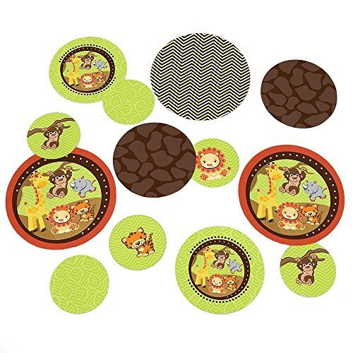 Funfari - Fun Safari Jungle - Party Table Confetti - 27 Count