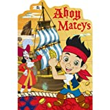 Jake & the Neverland Pirates Invitations (8) Invites Cards Birthday Party Supplies