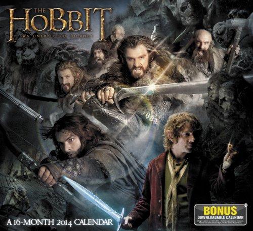 The Hobbit an Unexpected Journey 2014 Calendar