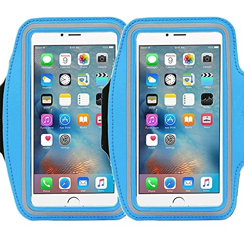 Universal Sports Armband for 5.7 Inch Screen Apple iPhone 6/6s iPhone 6/6s Plus Samsung Galaxy S7/S6/S5/S4 Sweatproof Running ArmBelt With Small Holder & Pouch for Keys Card (Lg Volt Extra Battery compare prices)