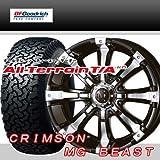 16インチ 4本セット タイヤ&ホイール BFグッドリッチ(BFGoodrich) All-Terrain T/A KO 225/70R16 クリムソン