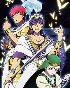 Amazon.com: Labyrinth Magic Magi Poster Promo Anime Sinbad K Big No