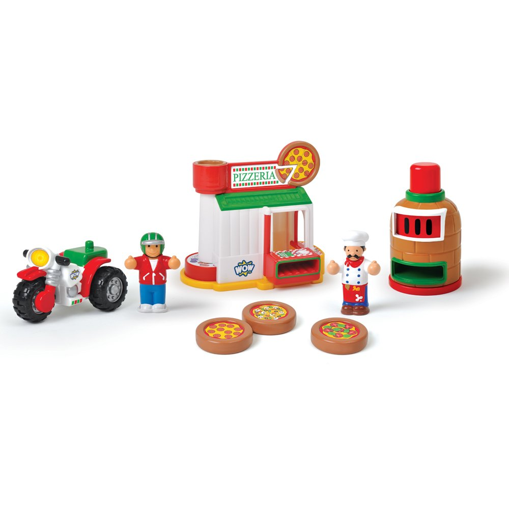 WOW Mario's Pizzeria – Town (8 Piece Set) $17.99