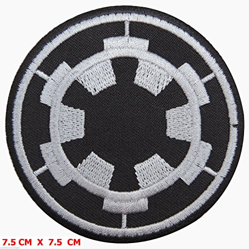 Star Wars: Imperial Target Patch Embroidered Iron on Movie Patch by Jumboshop