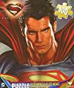 Man of Steel Superman 100 Pc Jigsaw Puzzle + Free Bonus 2015 Magnetic Calendar