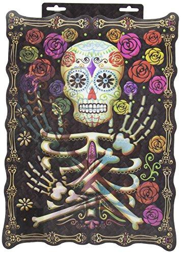 Black & Bone Lenticular Sign 18 in.