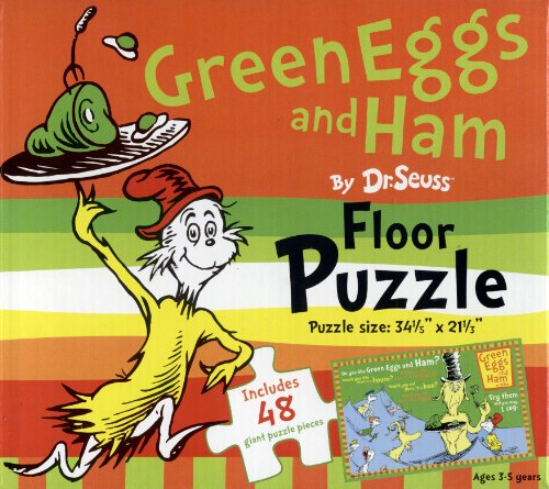 Cheap World Publications Group Floor Puzzle by Dr. Seuss – Green Eggs and Ham (1572156406)