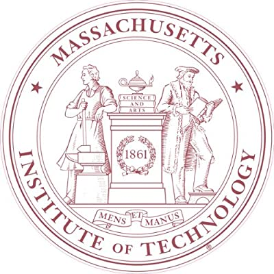 MASSACHUSETTS INSTITUTE OF TECHNOLOGY Decal - DECAL A-MIT SEAL - 3.9
