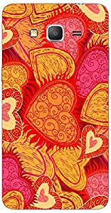 Timpax protective Armor Hard Bumper Back Case Cover. Multicolor printed on 3 Dimensional case with latest & finest graphic design art. Compatible with Samsung Galaxy Grand 2 - 7106/7105 Design No : TDZ-25418