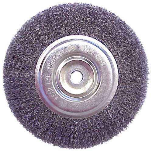 6 Quot Wire Brush Wheel For Bench Grinder Review Grinder Reviews