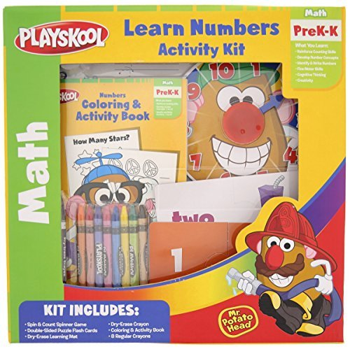 Playskool Learn Numbers Activity Kit with Mr. Potato Head