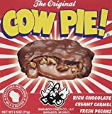 Original Cow Pie Large Specialty Chocolate Candy Cluster - Caramel, Nuts and Rich Wisconsin Milk Chocolate. 2.5 Oz. (Original Milk Chocolate)