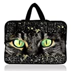 Brand New Fashion cat face 17 17.3 17.4 inch Neoprene Notebook Laptop Bag Sleeve Case with Hidden Handle for Apple MacBook pro 17 /Dell Inspiron 17R Vostro XPS Alienware M17x /Acer/ lenovo / Samsung 700 Sony Vaio E 17 HP Pavilion DV7 ENVY 17/Asus Dell Inspiron 1721 17 inch Laptop netbook