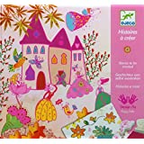 Djeco Princesses Create a Story Stamping Kit