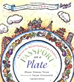 img - for Passport on a Plate: A Round-the-World Cookbook for Children book / textbook / text book