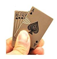Windproof Cigarette Gas Lighter - Playing Cards (Ace)