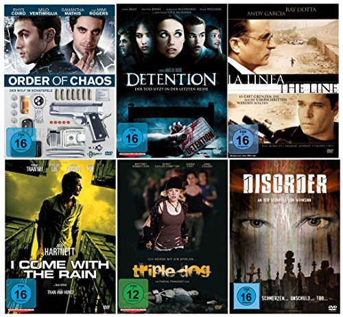 Best of Psycho Thriller Box Collection ( Einmalige Sammlung auf 6 DVD´s )