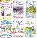 CAROLE MATTHEWS CAROLE MATTHEWS 6 BOOK SET COLLECTION SUMMER DAYDREAMS IT'S A KIND OF MAGIC ALL YOU NEED IS LOVE A PLACE TO CALL HOME FOR BETTER FOR WORSE & THAT LOVING FEELING