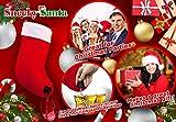 Sneeky Santas Wine Stocking Flask - Christmas Holiday Drink Dispenser