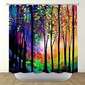 Shower Curtain Artistic Designer From Dianoche Designs By Artist Aja Ann Unique