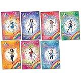 Rainbow Magic: Fashion Fairies Pack, 7 books, RRP £34.93 (Alexa Fashion Reporter Fairy; Brooke Photographer Fairy; Claudia Accessories Fairy; Lola Fashion Show Fairy; Matilda Hair Stylist Fairy; Miranda The Beauty Fairy; Tyra Dress Designer Fairy).