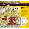 Perfect Timing - Avalanche Java 2015 Plan-It Plus by Lisa Kaus, August 2014 - December 2015, 12 x 26.5 inches (7009140)