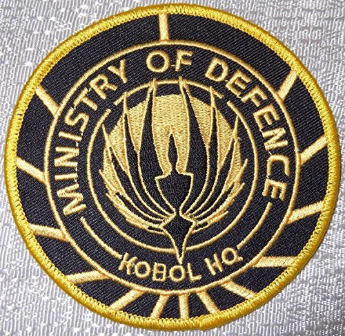 [Battlestar Galactica Ministry of Defense Kobol HQ Logo PATCH] (Galactica Costumes)
