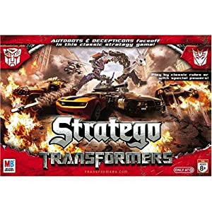 Hasbro Transformer Stratego Game