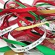 Ribbon off cut bundle - Xmas Theme - contains 10 different 1 metre ribbons