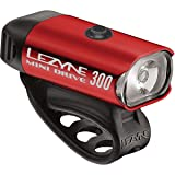 LEZYNE Mini Drive 300 Headlight Red/Hi Gloss, One Size (Color: Red/Hi Gloss, Tamaño: One Size)