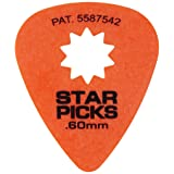 Everly 30022 Star Pik 12-pack .60mm Orange