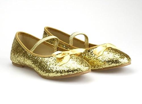 Girl's Gold Glitter Ballet