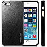 iPhone 5S Case, Caseology Apple iPhone 5/5S Case [Charcoal Black] Non-Slip Cover Shock Absorbent TPU Armor Bumper iPhone 5/5S Case (for Apple iPhone 5/5S Verizon, AT&T Sprint, T-mobile, Unlocked)