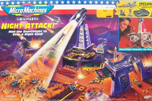 Buy Low Price Galoob Battle Zones Night Attack Micro Machines Military Playset Figure (B000WUH1VE)