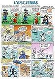 Les Prénoms en BD - Affiche - Les Sports en BD - Escrime