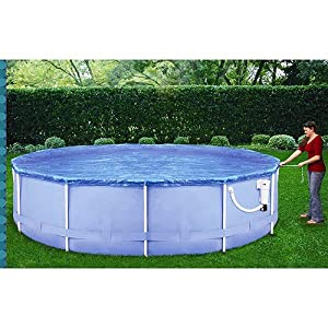 Amazon Com Solar Pool Cover For 12 14 Ring Pool Or