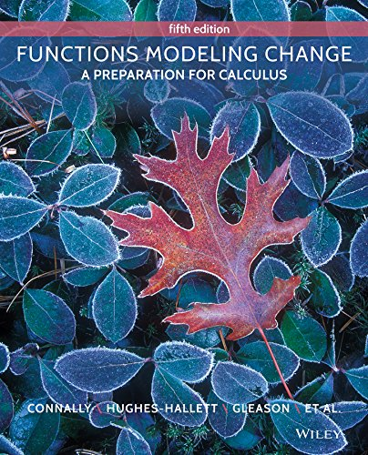 Functions Modeling Change: A Preparation for Calculus (Functions Modeling Change compare prices)