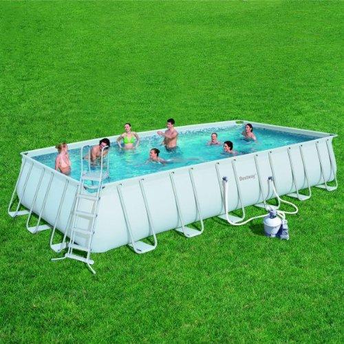 Frame pools im shop von bestellen kinderpools - Pool rechteckig mit pumpe ...