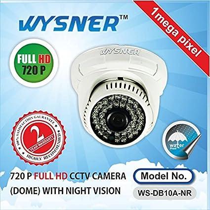 Wysner-WS-DB10A-NR-1.0MP-Dome-CCTV-Camera
