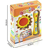 Magideal Baby Musical Instrument Play Set Singing Microphone Children Educational Toy