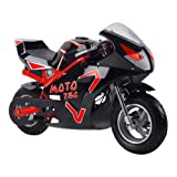 SAY YEAH Electric Scooter 36V 500W Motor Dirt Bike,Kids Mini Motorcycle, GT Electric Pocket Bike for Boys and Girls (Color: red)