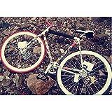 Relefree 30 Pièces Sticker Autocollants Etanche pour Vélo Aléatoire