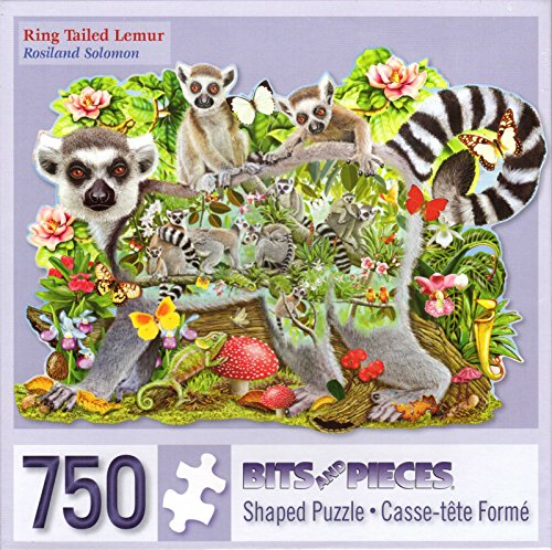 Ring Tailed Lemur By Rosiland Solomon 750 Piece Puzzle