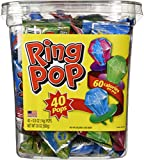 Ring Pops Assorted - 40 Count Pops