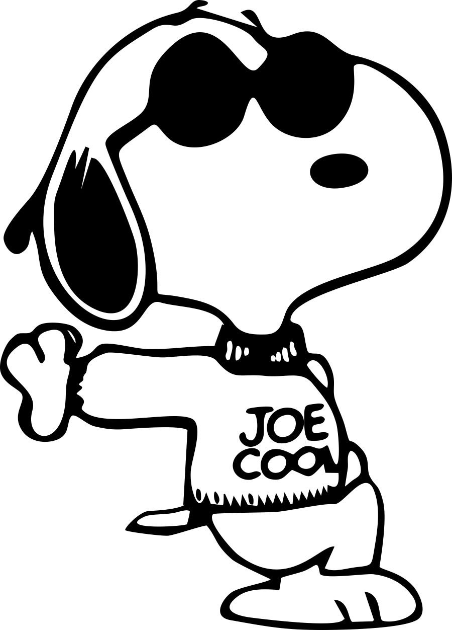 woodstock and snoopy coloring pages - photo#16