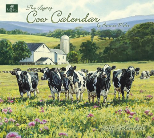 Cheap Legacy 2013 Wall Calendar, Cow Calendar by Bonnie Mohr (WCA9020) (B0089K37H6)