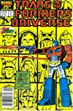 img - for Transformers Universe #2 (Marvel Comic Book 1987) book / textbook / text book