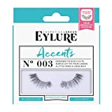 Eylure Accents False Lashes, Style No. 003, Reusable, Adhesive Included, 1 Pair