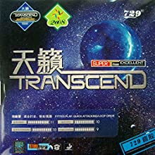 RITC 729 Friendship TRANSCEND Attack  Loop Pips-In Table Tennis Ping Pong Rubber With Sponge