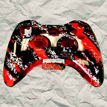 Red Marble XBOX 360 Controller Shell | Controller Mod